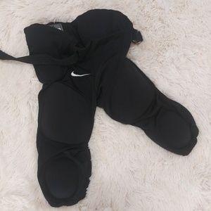 Nike football pants w pads youth large